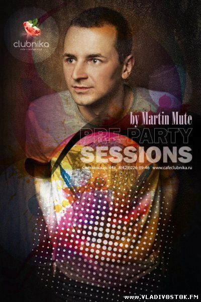 Pre-party sessions w Martin Mute